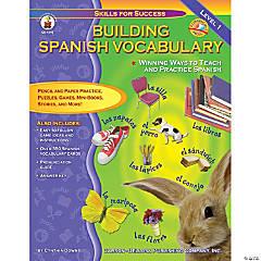 Building Spanish Vocabulary Resource Book, Grade PreK-12