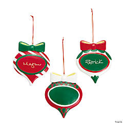 Bulb-Shaped Christmas Ornaments
