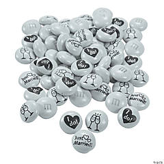 Bulk Just Married M&Ms<sup>&#174;</sup> Chocolate Candies