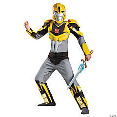 Bumblebee Muscle Costume for Boys