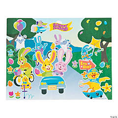 Bunnies in Motion Sticker Scenes