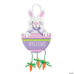 Bunny And Carrot Door Hanger Craft Kit