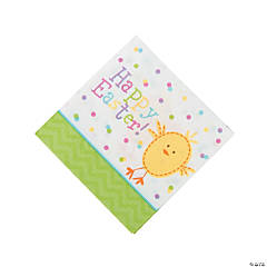 Bunny & Chick Beverage Napkins