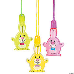 Bunny Bubble Necklaces