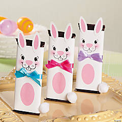Bunny Chocolate Bar Craft Idea