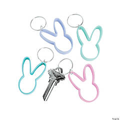 Bunny Shape Key Chain
