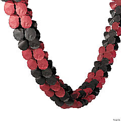 Burgundy & Black Garland