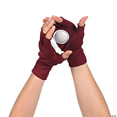 Burgundy Clapping Gloves