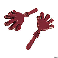 Burgundy Hand Clappers
