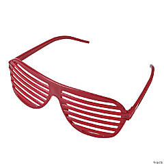 Burgundy Shutter Shading Glasses