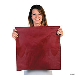 Burgundy Team Spirit Rally Cloth