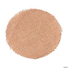 Burlap Circles