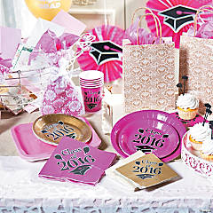 Burlap Graduation Party Supplies