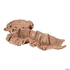 Burlap-Stitched Ribbon