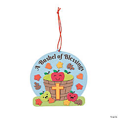 Bushels of Blessings Apple Ornament Craft Kit