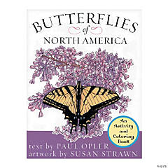 Butterflies Of North America Coloring Book