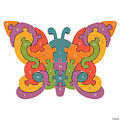 Butterfly A-to-Z Puzzle