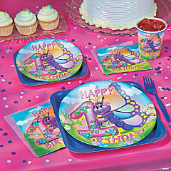 Butterfly 1st Birthday Party Supplies