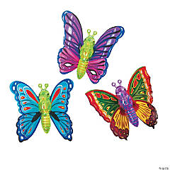 Butterfly Wind-Up Toys