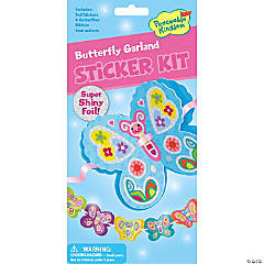 Butterly Garland Quick Sticker Kit