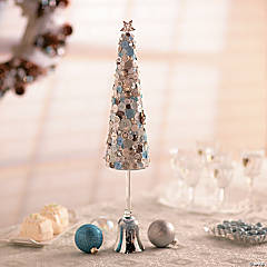 Button Tree Christmas Décor Idea