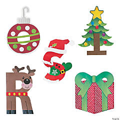 Buy All & Save Christmas Letter Craft Kits