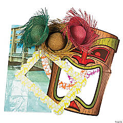 Buy All & Save Luau Photo Booth Kit