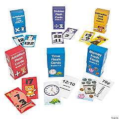 Buy All & Save Math Flash Cards