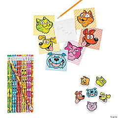 Buy All & Save Rainbow Dog & Cat Stationery