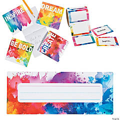 Buy All & Save Rainbow Watercolor Stationery