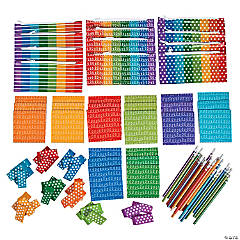 Buy All & Save Scribbles, Dots & Stripes Stationery