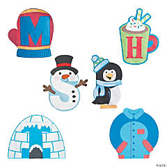 Buy All & Save Winter Alphabet Craft Kits