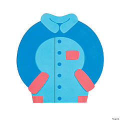 C is for Coat Alphabet Craft Kit