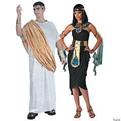 Caesar and Cleopatra Couples Costumes