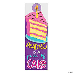 Cake-Scented Bookmarks
