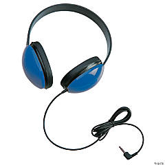 Califone Listening First™ Stereo Headphone, Blue