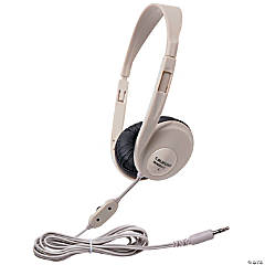 Califone Multimedia Stereo Headphone, Beige