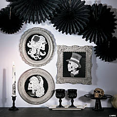 Cameo Skeleton Pictures Halloween Décor