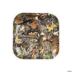 Camouflage Paper Dessert Plates