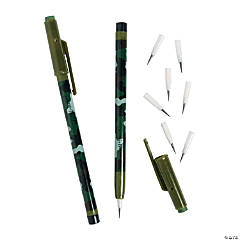 Camouflage Stacking Pencils