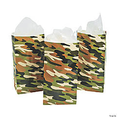 Camouflage Treat Bags
