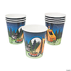 Camp Adventure Paper Cups