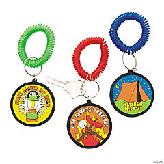 Camp Courage Coil Key Chains