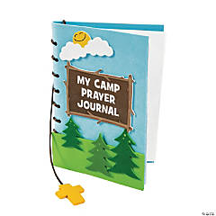 Camp Courage Prayer Journal Craft Kit