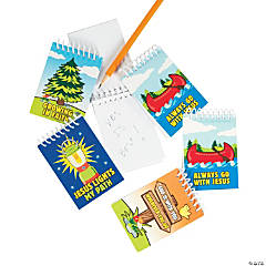 Camp Courage Spiral Notepads