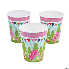 Camp Glam Paper Cups