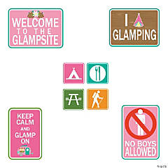 Camp Glam Sign Cutouts