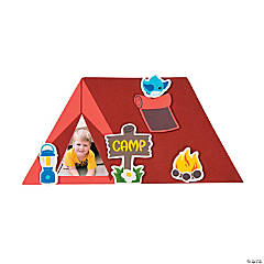 Camping Tent Picture Frame Magnet Craft Kit