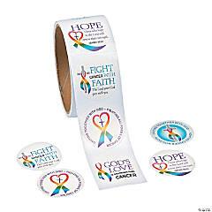 Cancer Awareness Faith Stickers
