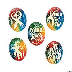 Cancer Awareness Faith Worry Stones